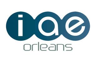 logo IAE Orléans - Éclat de mots